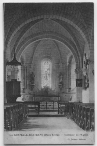 La Chapelle Bertrand - Capella Bertrandi