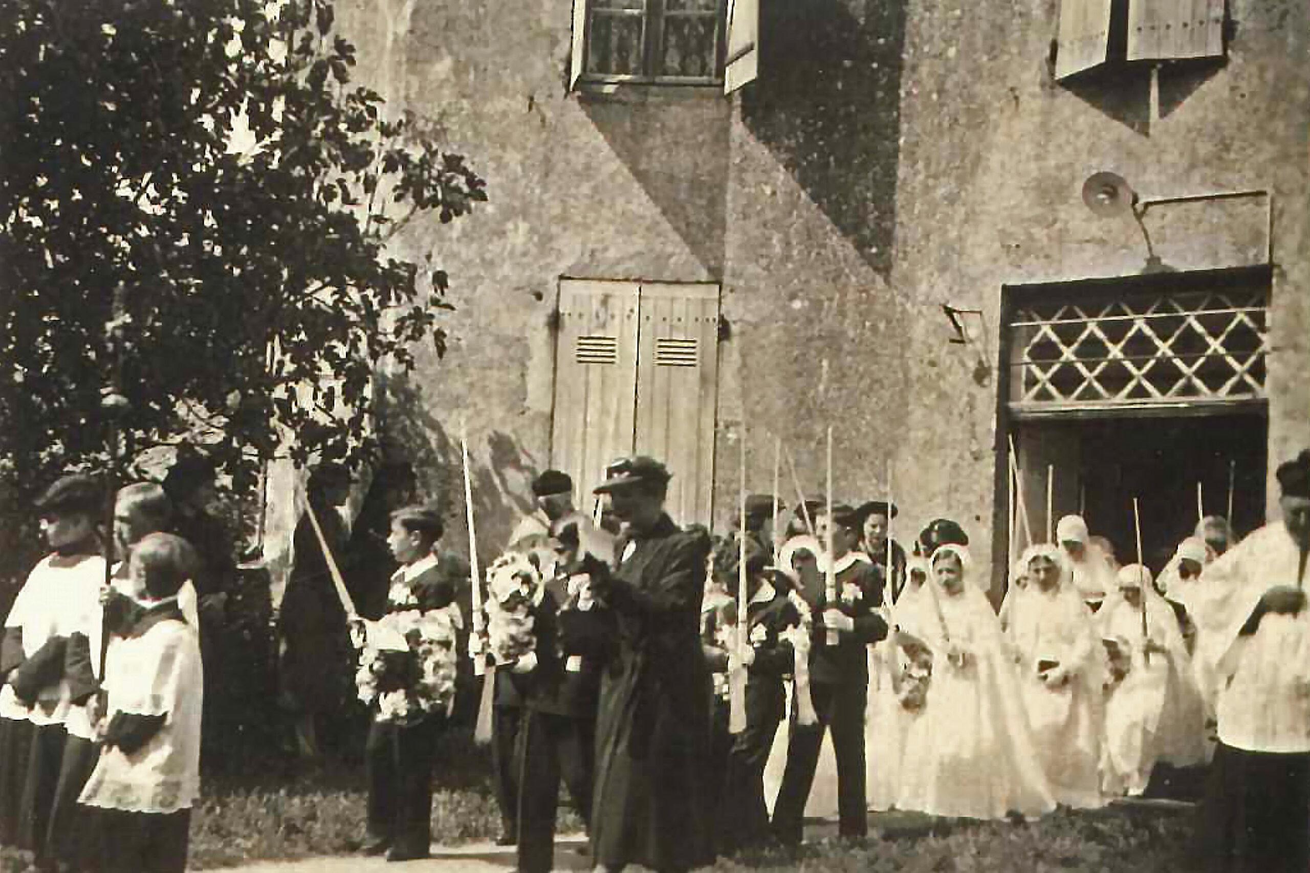 Communion solennelle - juin 1838 - La Chapelle Bertrand