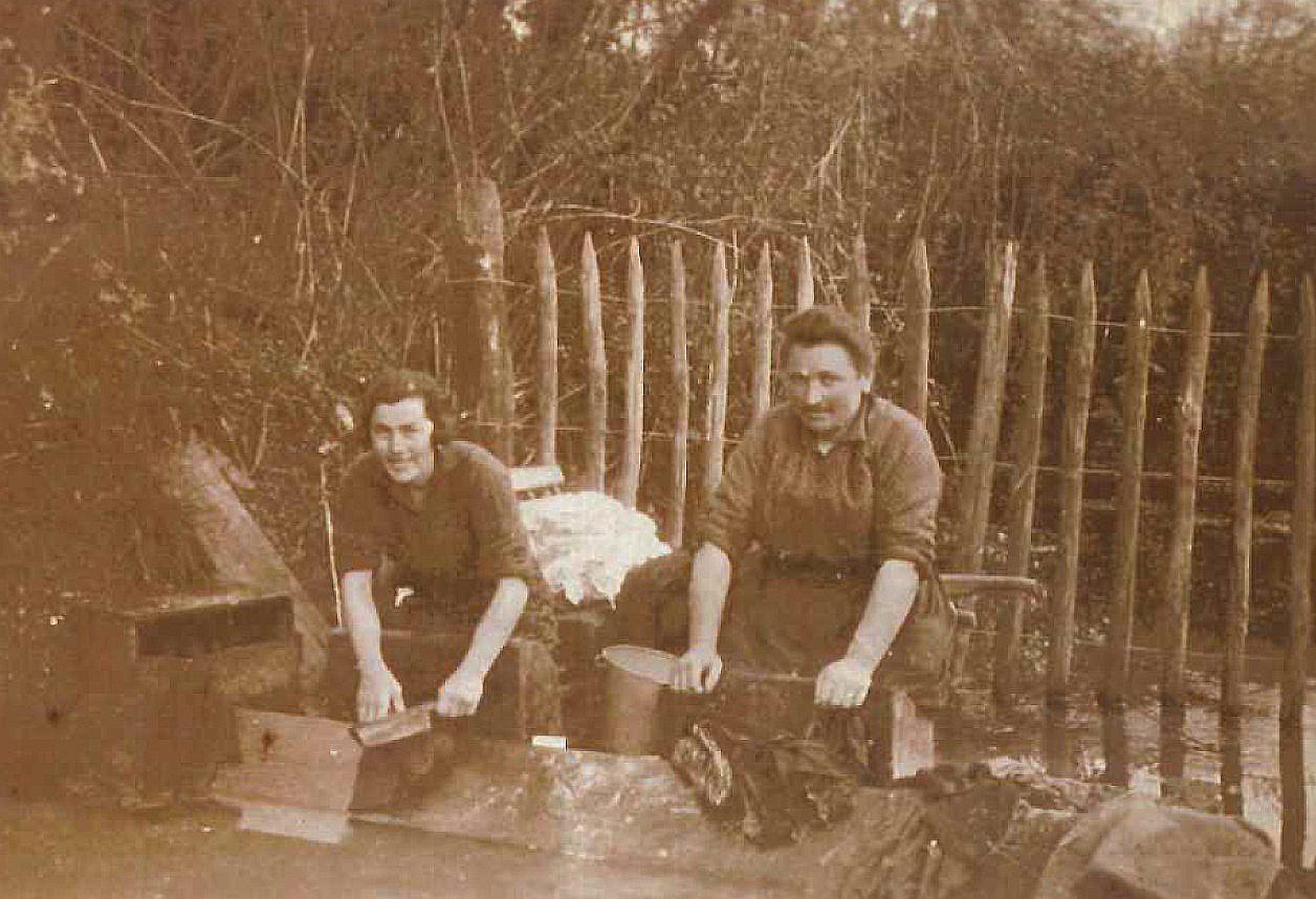 Lavoir du grand cône en 1931