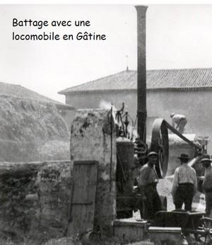 Métives et batteries autrefois