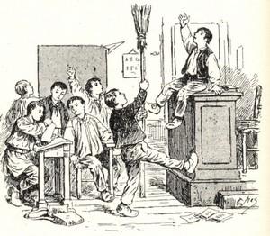 L'enseignement à la Chapelle Bertrand jusqu'au début du XXe siècle